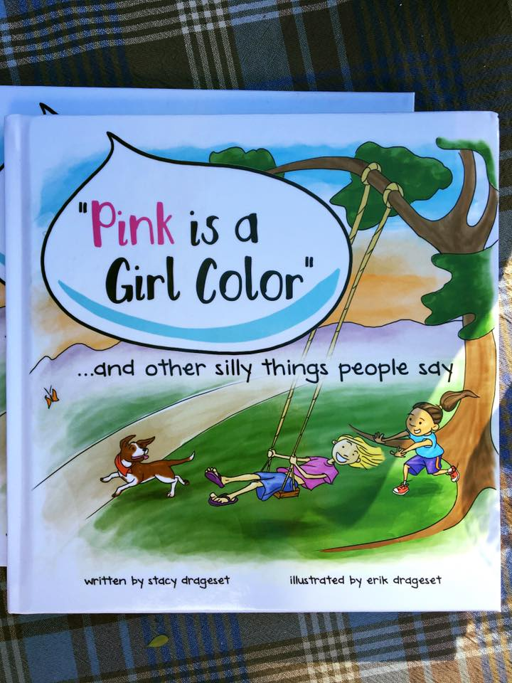 pink is a girl color pic
